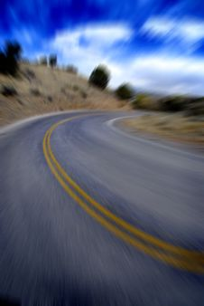 Free Country Roadway Stock Photography - 7708792
