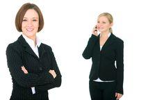 Free Caucasian Female Businesswoman Stock Photo - 7709520