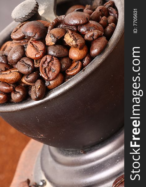 Detail of coffee