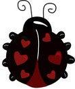 Free Cartoon Of Ladybug Stock Photography - 7716862