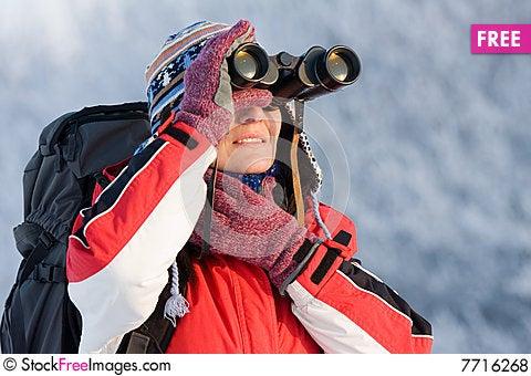 Free Hiker Royalty Free Stock Photos - 7716268