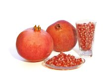 Free Red Pomegranates Royalty Free Stock Images - 7710019