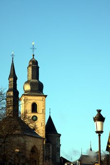 Free Luxembourg Church Stock Photo - 7710440