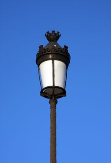 Free Old Victorian Style Lamp Stock Photography - 7710452