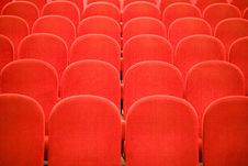 Free Chairs In The Cinema Royalty Free Stock Images - 7710579
