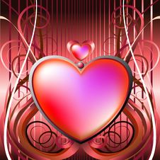 Free Heart Valentine Royalty Free Stock Photo - 7710815