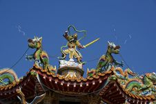 Free Temple Roof Stock Photos - 7710873