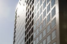 Windows By Modern Building Stock Photography