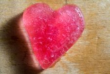 Heart Of Ice Royalty Free Stock Image