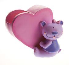 Free Heart Shaped Money Box Royalty Free Stock Photo - 7711345