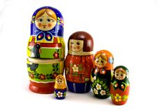 Free Nested Dolls Royalty Free Stock Image - 7711516