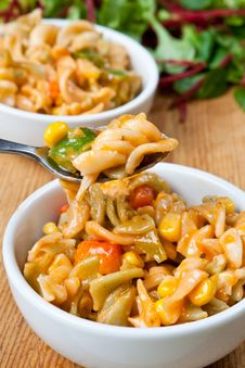 Free Healthy Bowl Of Delicious Pasta Stock Photos - 7712573