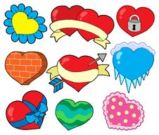 Free Valentine Hearts Collection 2 Stock Photo - 7712720