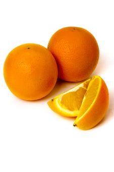 Free Orange With Measuring Tape Royalty Free Stock Photos - 7712728