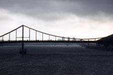 Free Foot-bridge On The River Dnipro In Kyiv Stock Photos - 7712793