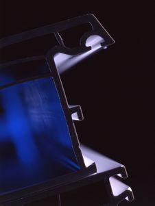 Free Window Profile With Blue Illumination Stock Photography - 7713252
