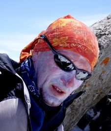 Free Climber Portrait Stock Photography - 7713322