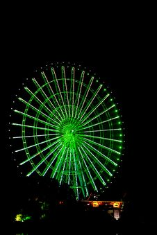 Free Ferris Wheel At Night Royalty Free Stock Photo - 7713495