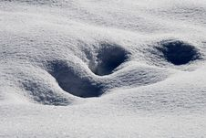Free Snow Dunes Royalty Free Stock Image - 7713536