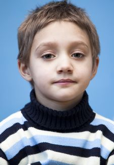 Free Portrait Of A Boy Royalty Free Stock Image - 7713826