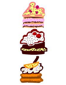 Free Cakes 2 Stock Image - 7714631
