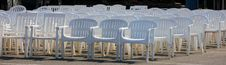Free Chairs At A Wedding Stock Images - 7714634