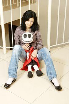 Free Sad Teenager Stock Image - 7714911