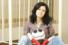 Free Sad Teenager Stock Photography - 7715032