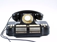 Free Old Telephone Royalty Free Stock Images - 7715039