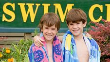 Free Brothers At The Pool Stock Photos - 7715063