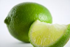 Free Lime Slice Royalty Free Stock Photo - 7715065