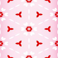 Free Seamless Valentines Pattern Royalty Free Stock Images - 7715729