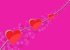 Free Valentine S Day Heart Background Stock Photo - 7715760