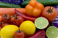 Vegetable Still-life Royalty Free Stock Photo