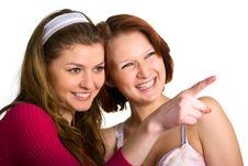 Free Girlfriends Stock Image - 7716081