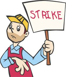 Free A Striker Man Stock Photography - 7716352