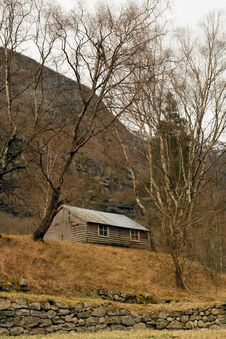 Free Norway Tipical Rural Hut Royalty Free Stock Photography - 7716607