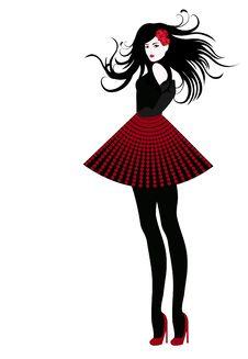 Free Fashion Girl Stock Image - 7716911