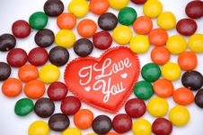 Free Red Love Heart Stock Photography - 7716982