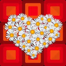 Free Flower Heart Royalty Free Stock Photography - 7717897