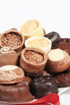 Free Assorted Chocolates Stock Photography - 7718152