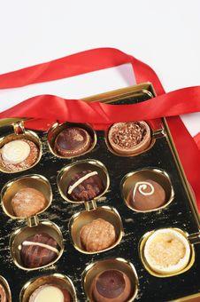 Free Assorted Chocolates Royalty Free Stock Image - 7718286