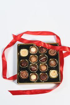 Free Assorted Chocolates Royalty Free Stock Photo - 7718305
