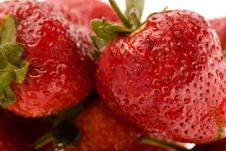 Free Picture Of Isolated Strawberries Stock Photo - 7718350