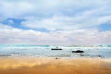 Free Atlantic Sand Shore Stock Images - 7718454