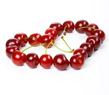 Free Heart From Cherry Stock Photo - 7718540