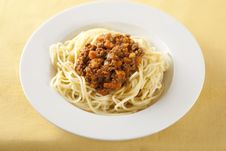 Free Spaghetti Bolognese Stock Images - 7718554