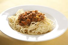 Free Spaghetti Bolognese Stock Images - 7718694