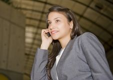 Free Woman On Cell Phone Stock Photos - 7718963