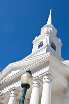 Free Church Steeple Stock Photo - 7719040